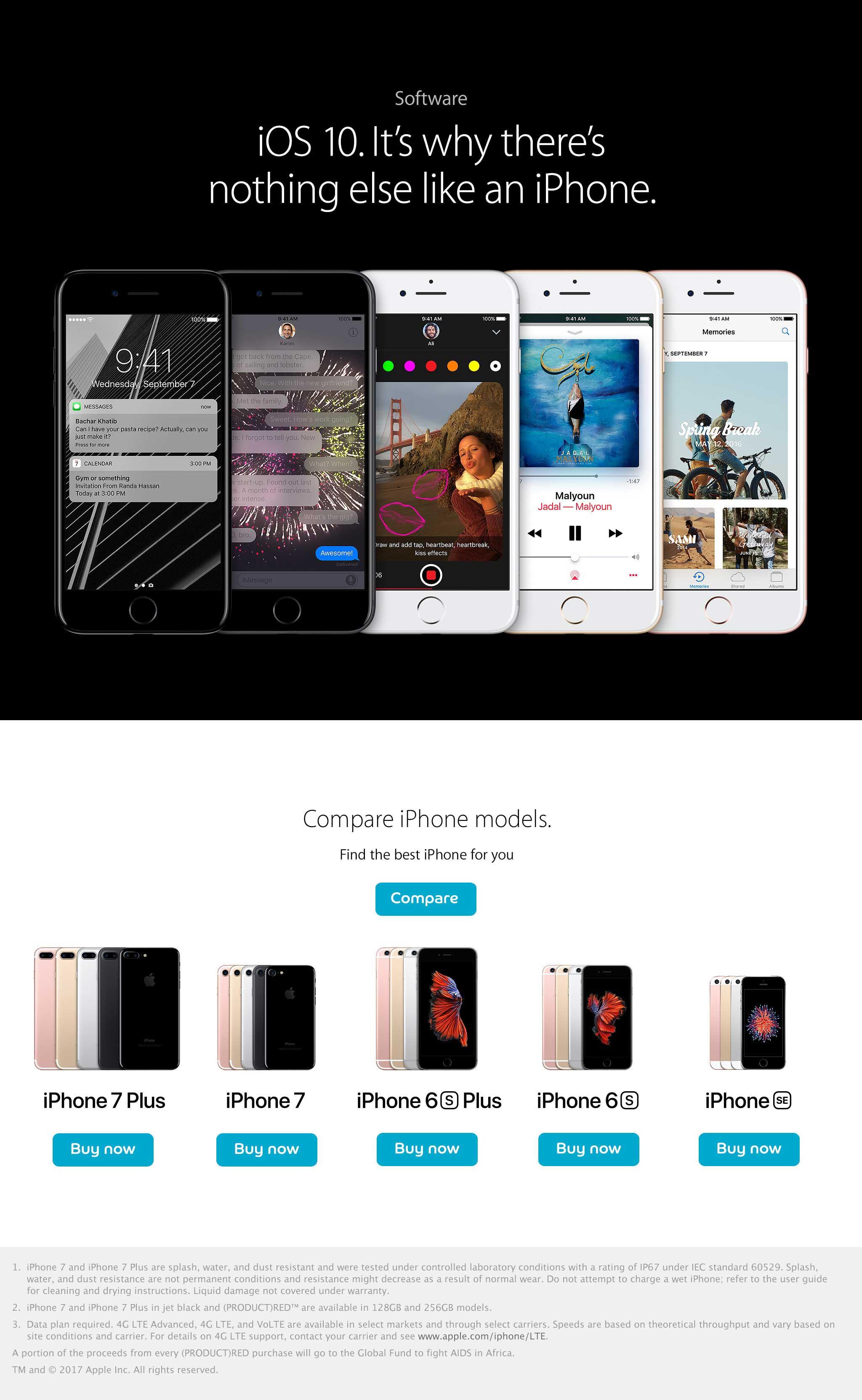 iPhone 7 - Apple iPhone 7 Plus | du